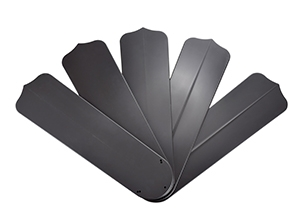 14205 Series 52-inch Black Outdoor Ceiling Fan Blades