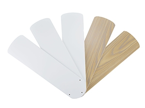 14213 Series 52-inch White and Bleached Oak Fan Blades