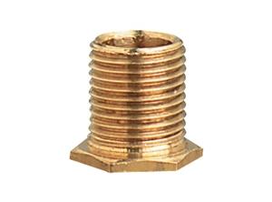 22207 - 1/8 IP 7/16-in Brass Thread Hex