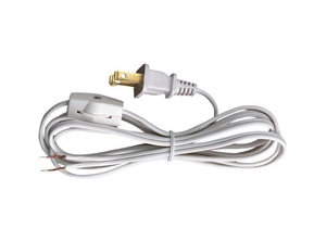 29010 - Cord Set With Switch Cat Tipped for 18/2 SPT-1