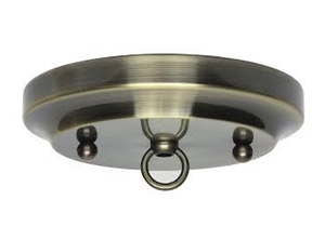 21102 - Classic Antique Brass Finish Canopy Kits
