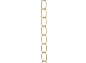 25107 - 3ft. 11 Gauge Polished Brass Fixture Chains