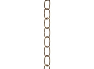 25102 - 3ft. 11 Gauge Antique Brass Fixture Chains
